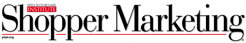 Shopper marketing magazine logo tiny